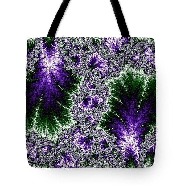 Cosmic Leaves Tote Bag
