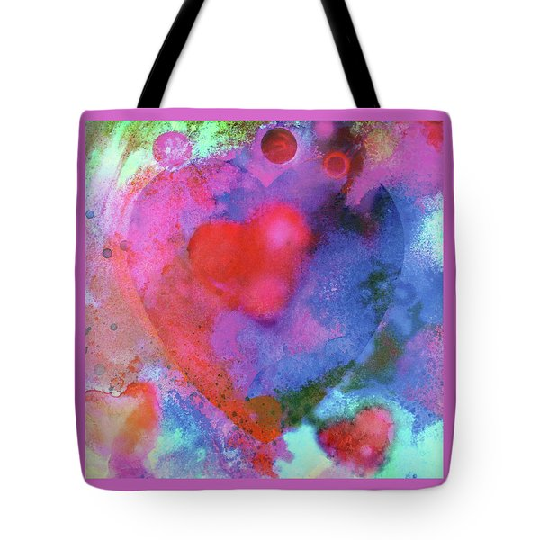 Cosmic Love Tote Bag