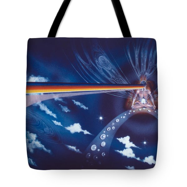 Cosmic Mediator Tote Bag