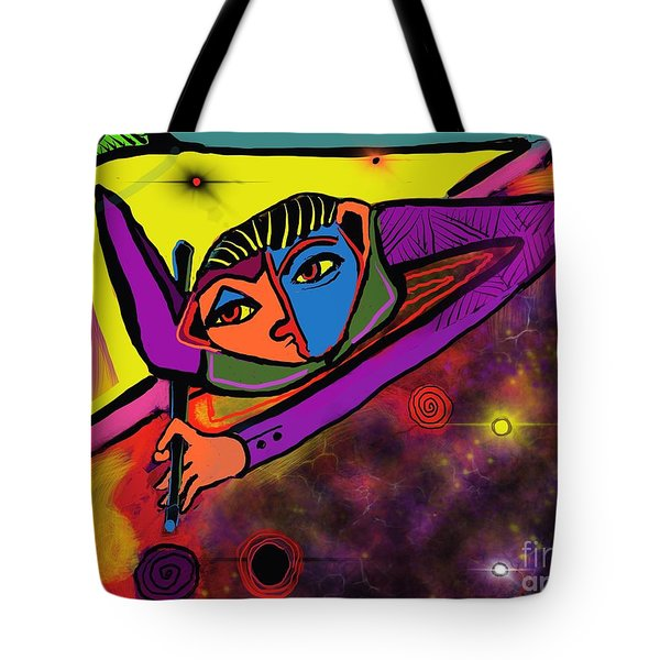 Cosmic Pool Tote Bag