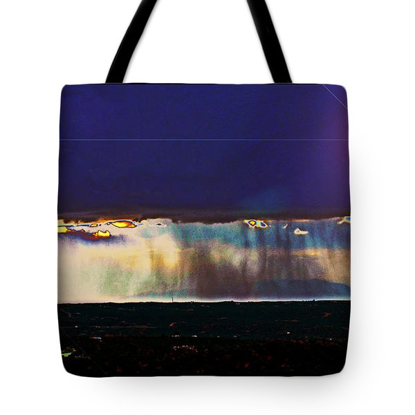 Cosmic Relocation Tote Bag