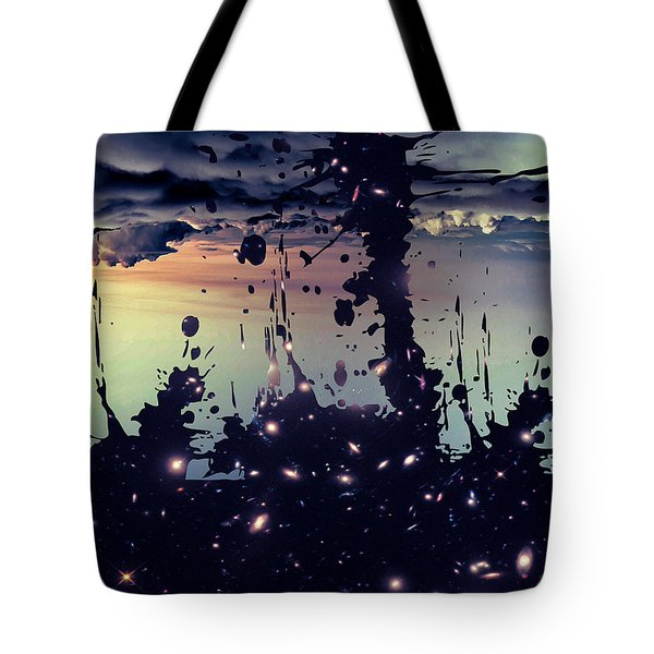 Tote Bag featuring the photograph Cosmic Resoance No 3 by Robert G Kernodle