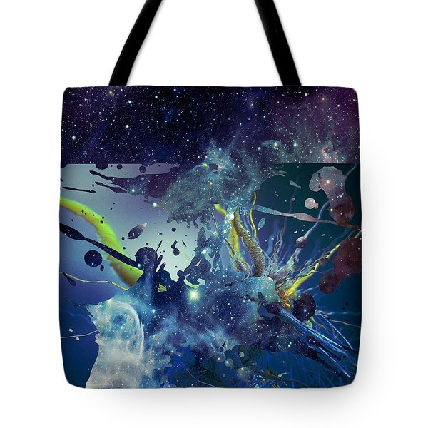 Cosmic Resonance No 1 Tote Bag