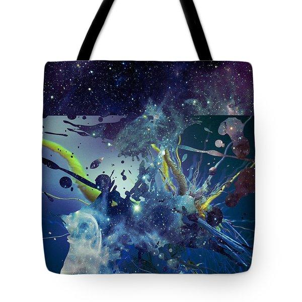 Cosmic Resonance No 1 Tote Bag