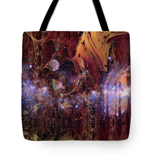 Cosmic Resonance No 2 Tote Bag