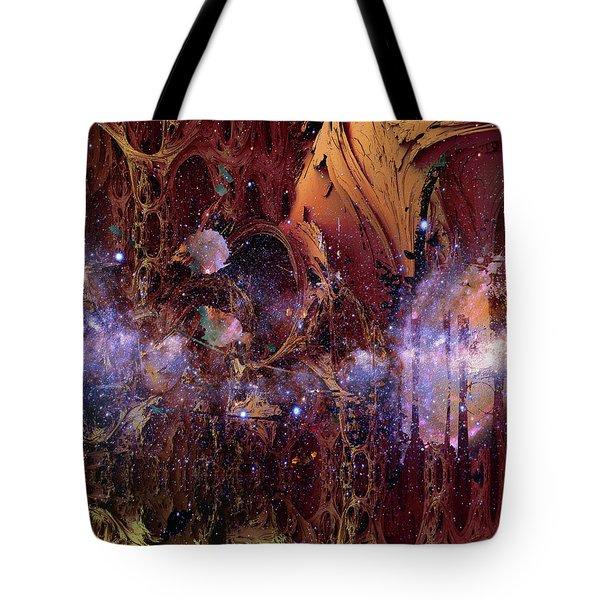 Cosmic Resonance No 2 Tote Bag