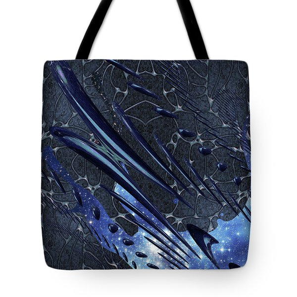 Cosmic Resonance No 5 Tote Bag