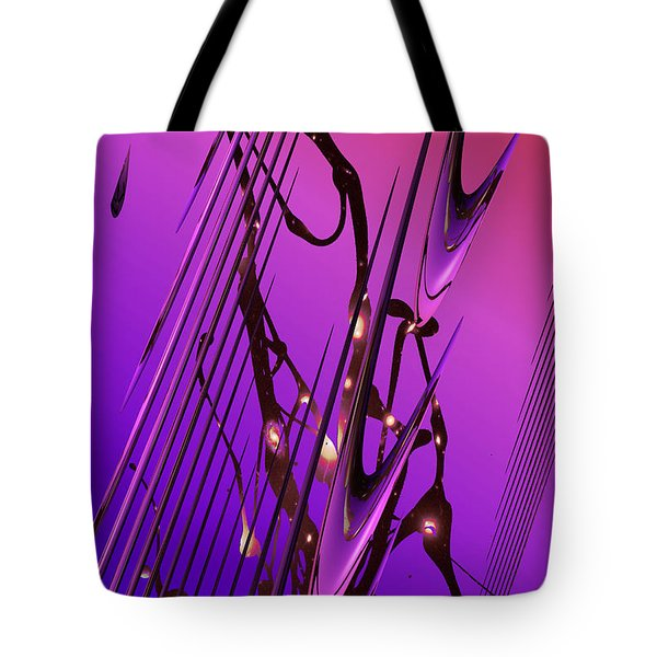 Cosmic Resonance No 6 Tote Bag