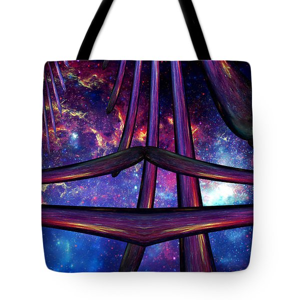 Cosmic Resonance No 7 Tote Bag