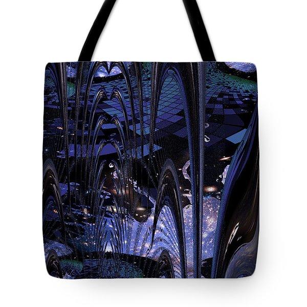 Cosmic Resonance No 8 Tote Bag