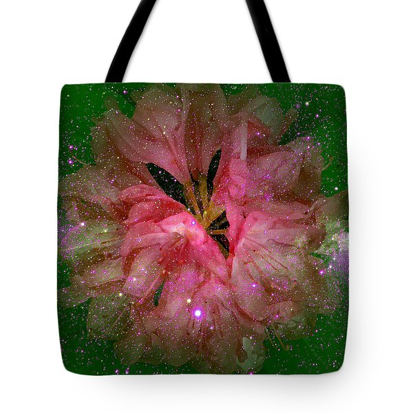 Cosmic Rhododendron Tote Bag by Robert Kernodle