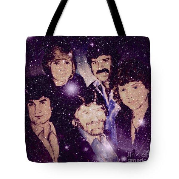 Cosmic Rockers Tote Bag