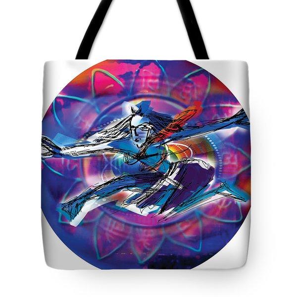Cosmic Shiva Speed Tote Bag
