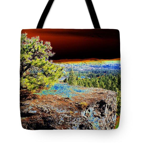 Cosmic Spokane Rimrock Tote Bag by Ben Upham III