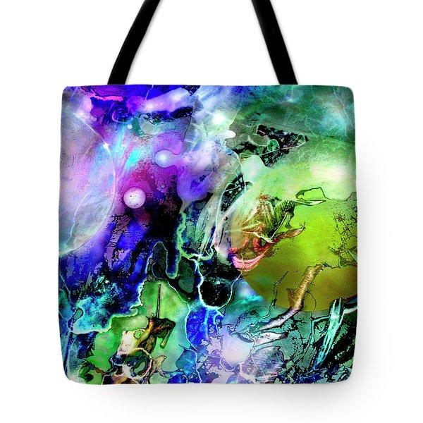 Cosmic Web Tote Bag