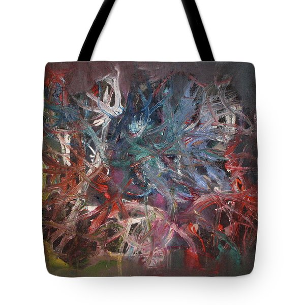 Cosmic Web Tote Bag