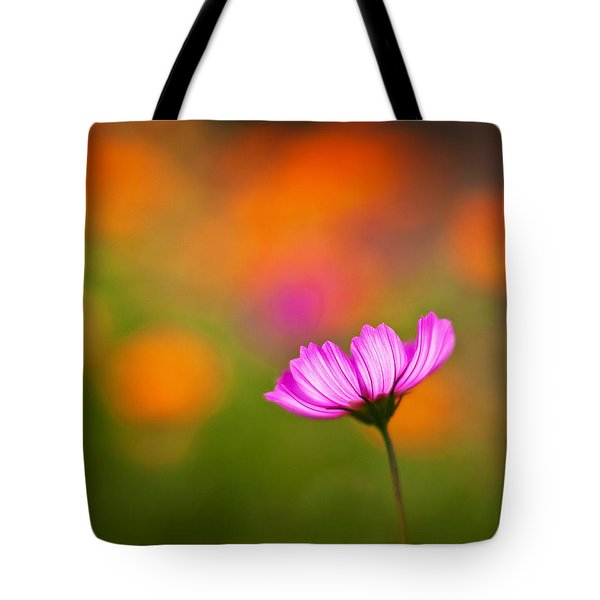 Cosmo Pastels Tote Bag by Mike Reid