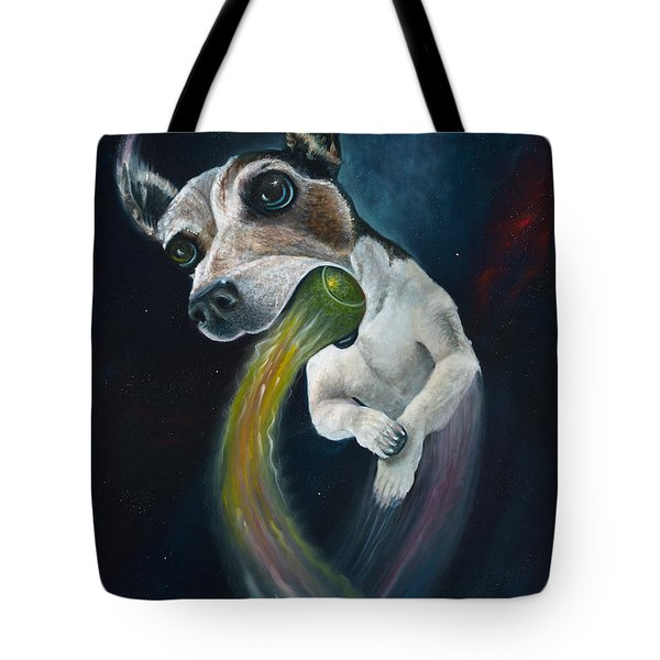 Cosmojo Tote Bag by Claudia Goodell