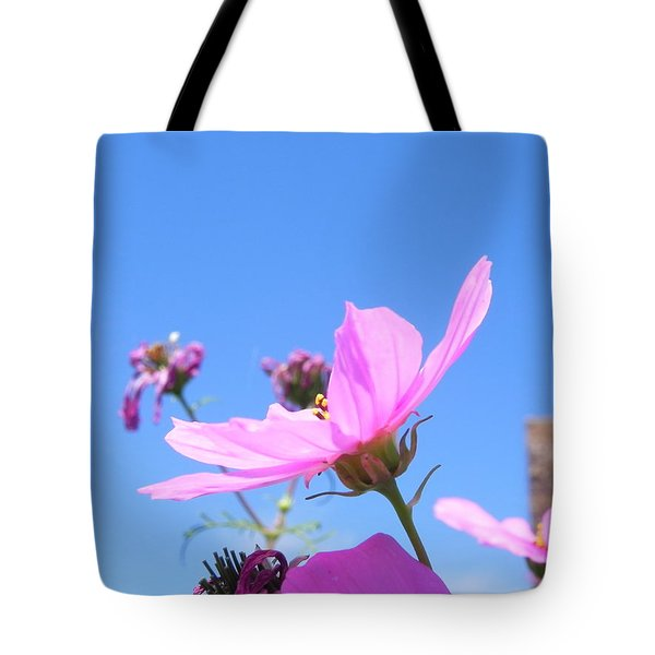 Cosmos Tote Bag by Adrienne Petterson