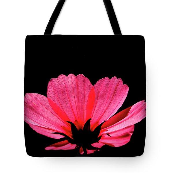 Cosmos Bloom Tote Bag