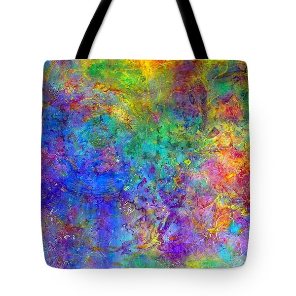 Cosmos Tote Bag by Claire Bull