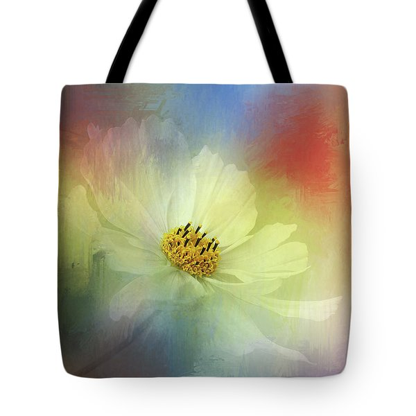 Cosmos Dreaming Abstract By Kaye Menner Tote Bag