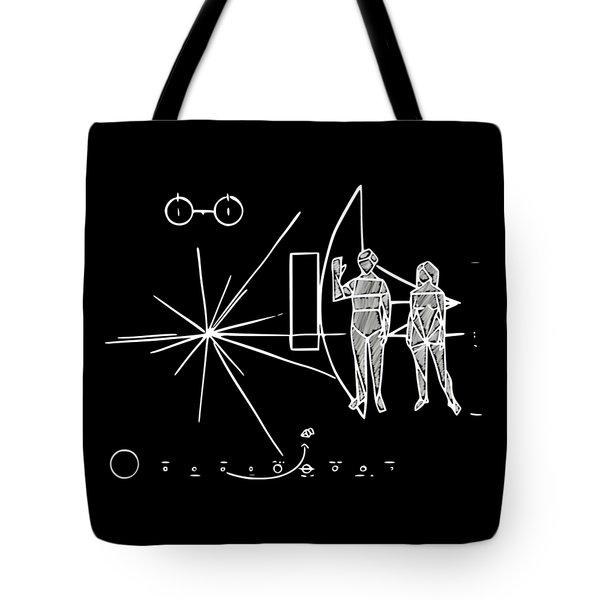 Cosmos Greetings  Tote Bag