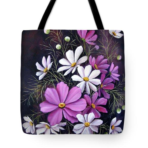 Cosmos Tote Bag by Katia Aho