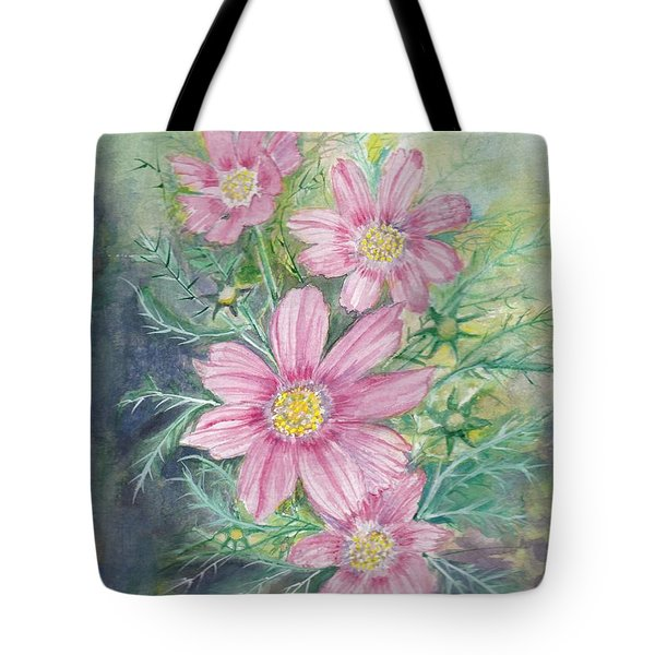 Cosmos - Painting Tote Bag