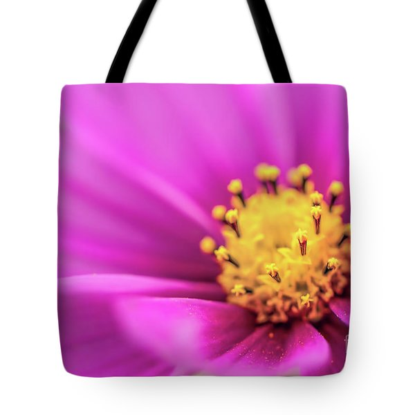 Tote Bag featuring the photograph Cosmos Pink Sensation by Sharon Mau