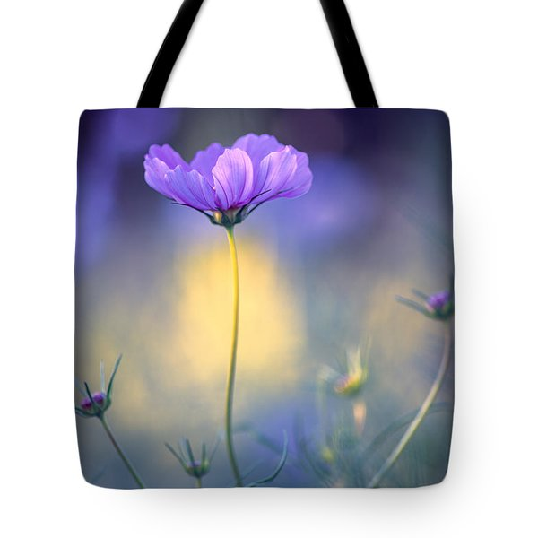 Cosmos Pose Tote Bag by John Rivera