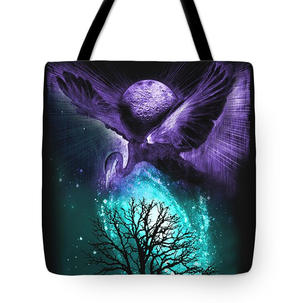 Tote Bag featuring the painting Cosmos by Ragen Mendenhall