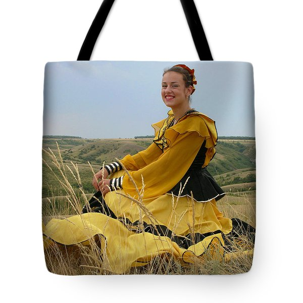Cossack Young Lady Tote Bag