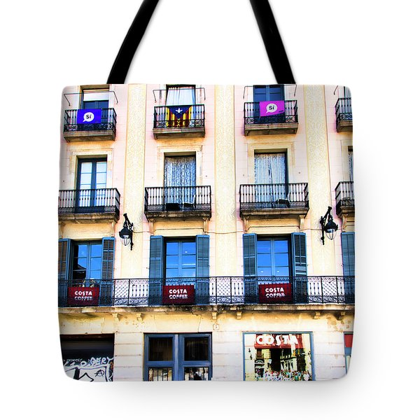 Costa Coffee Shop Barcelona  Tote Bag