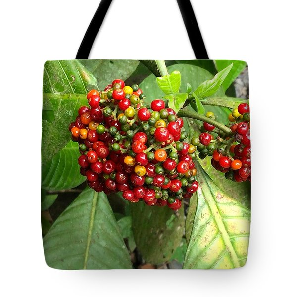 Costa Rican Berries Tote Bag