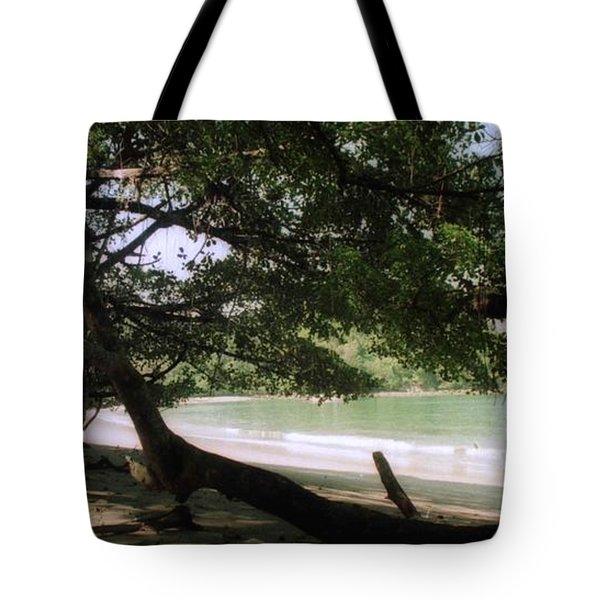 Costa Rica Beach Cove Tote Bag
