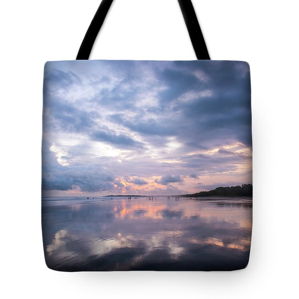 Tote Bag featuring the photograph Costa Rican Sunset by David Morefield