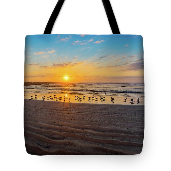 Coastal Sunrise Tote Bag