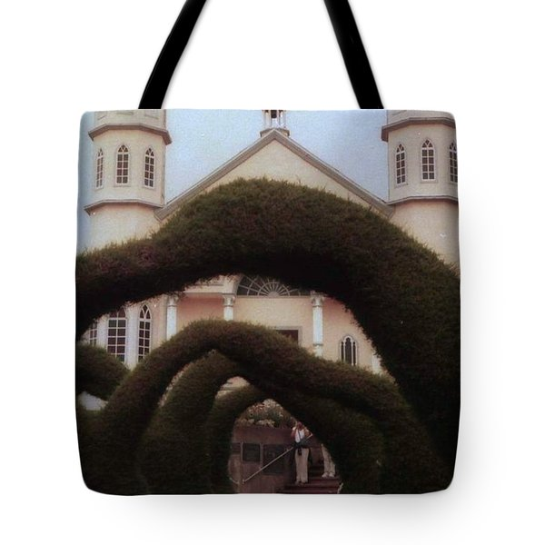 Costra Rica Garden Church Tote Bag