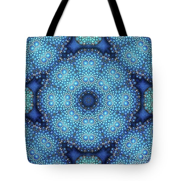 Tote Bag featuring the drawing Cote D'azur by Mo T