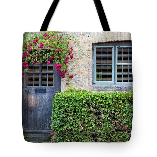 Tote Bag featuring the photograph Cotswolds Cottage Home by Brian Jannsen