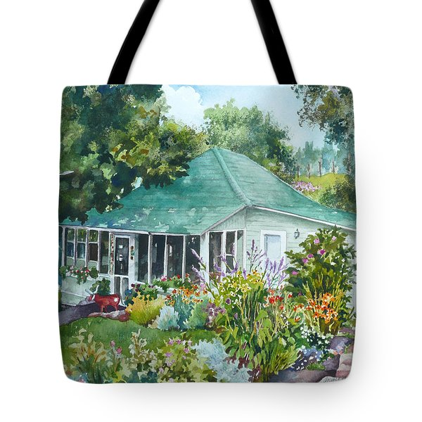 Cottage At Chautauqua Tote Bag