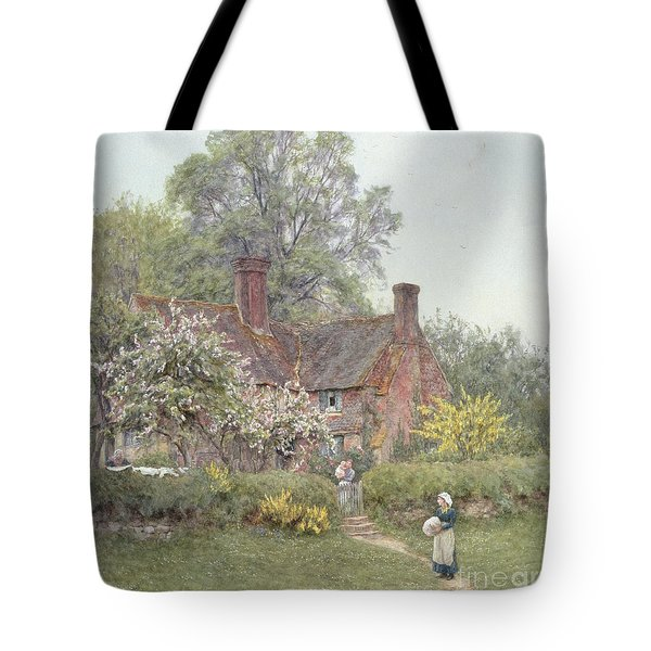 Cottage At Chiddingfold Tote Bag