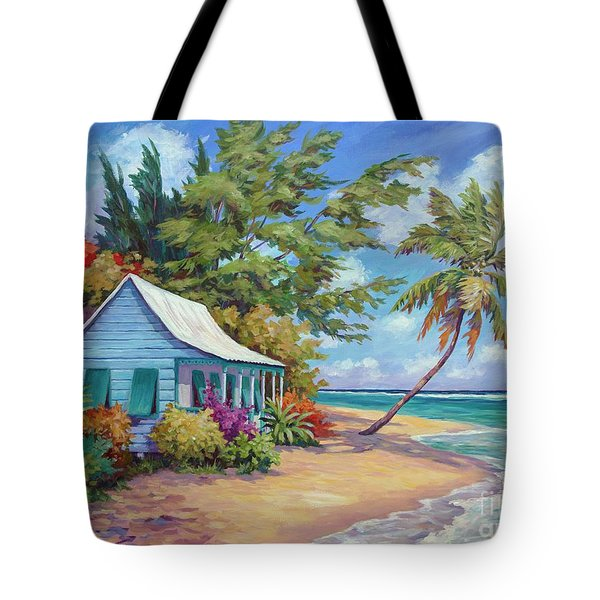 Cottage At The Water's Edge Tote Bag