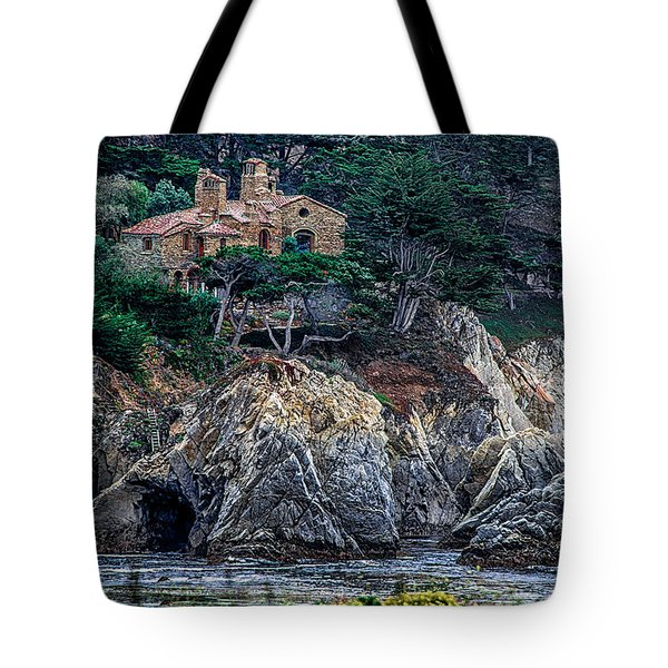 Cottage By The Ocean  Tote Bag