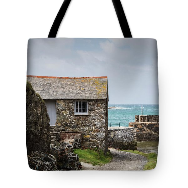 Cottage By The Sea Tote Bag