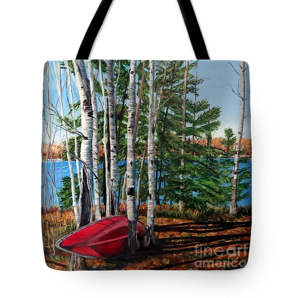 Cottage Country 2 Tote Bag