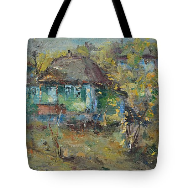 Cottage In Autumn Tote Bag