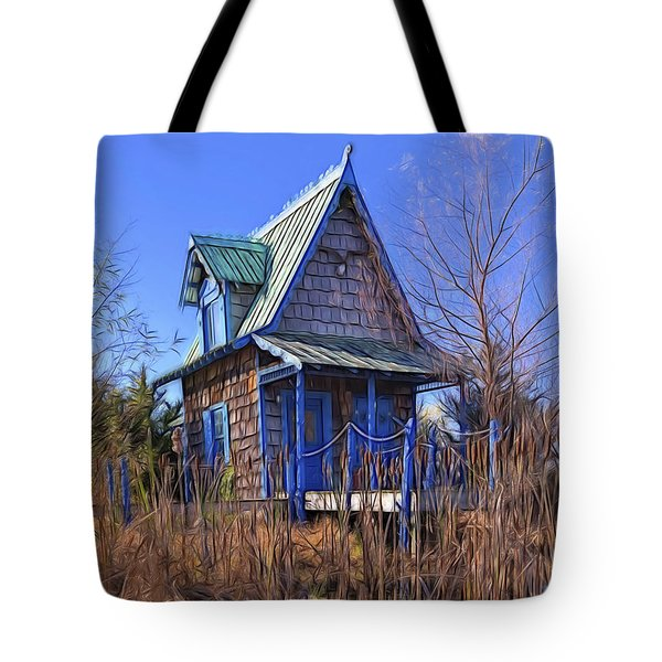 Cottage In The Willows Tote Bag