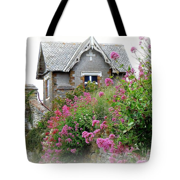 Cottage On The Hill Tote Bag by Anne Gordon